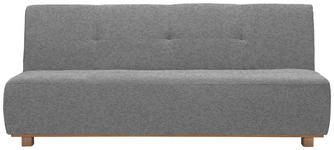 SCHLAFSOFA in Textil Grau  - Grau, Design, Holz/Textil (202/88/103cm) - Novel