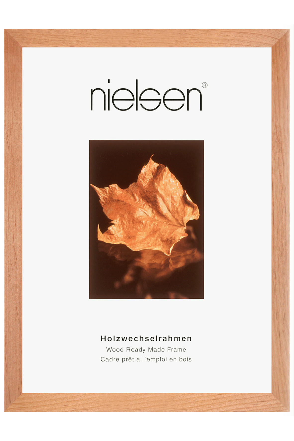 BILDERRAHMEN  Birkefarben - Birkefarben, Holz (50/60cm)