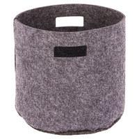 KORB - Hellgrau, LIFESTYLE, Textil (32/32cm)