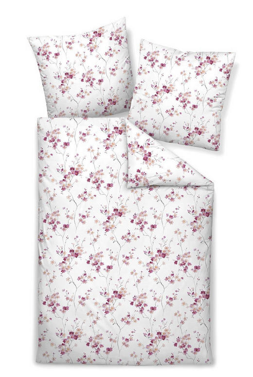 BETTWÄSCHE Interlock-Jersey Pink, Rosa 135/200 cm - Pink/Rosa, Natur, Textil (135/200cm) - Janine