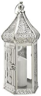 LUCERNA - barvy stříbra, Lifestyle, kov/sklo (17/39/15cm) - Ambia Home