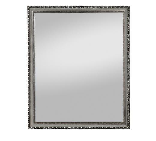 SPIEGEL  - Silberfarben, Design, Glas/Holz (45/55cm) - Carryhome