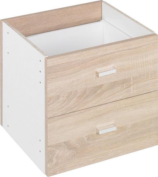 SCHUBKASTENEINSATZ - Eichefarben, Design, Holzwerkstoff (35/35/33cm)