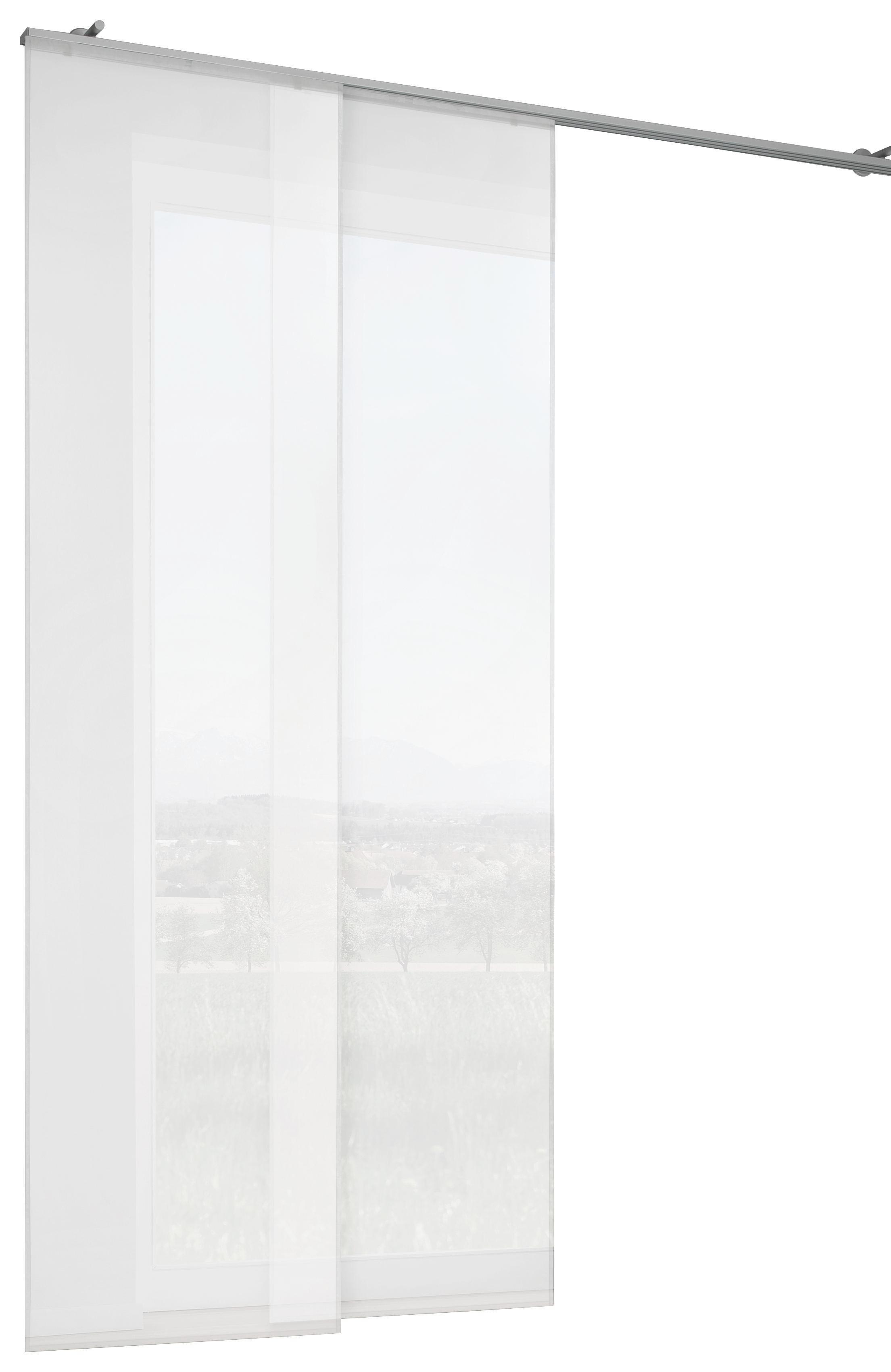 FLÄCHENVORHANG in Weiß - Weiß, Design, Textil (60/255cm) - BOXXX