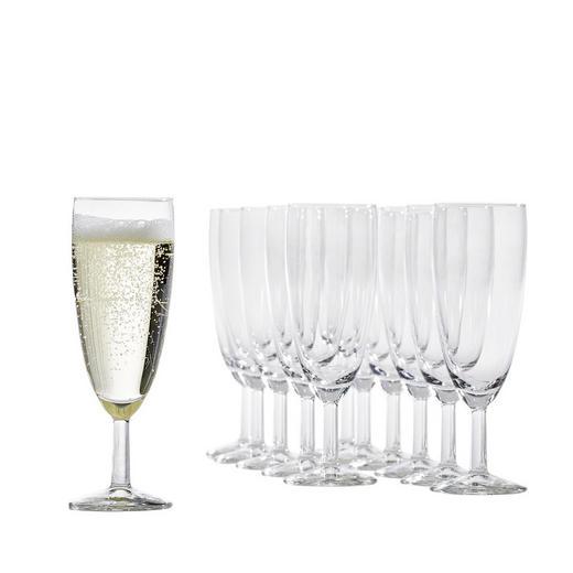 GLÄSERSET 12-teilig - Klar, Glas (22,7/16,5/17cm)
