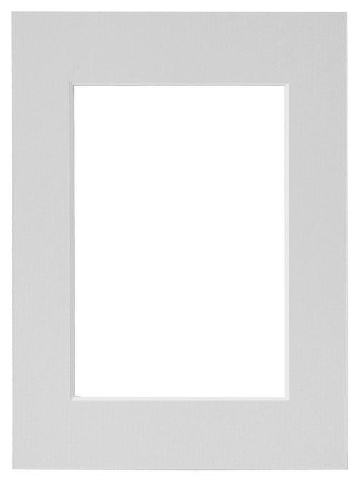 PASSEPARTOUT  Grau - Grau, Papier (13/18cm)