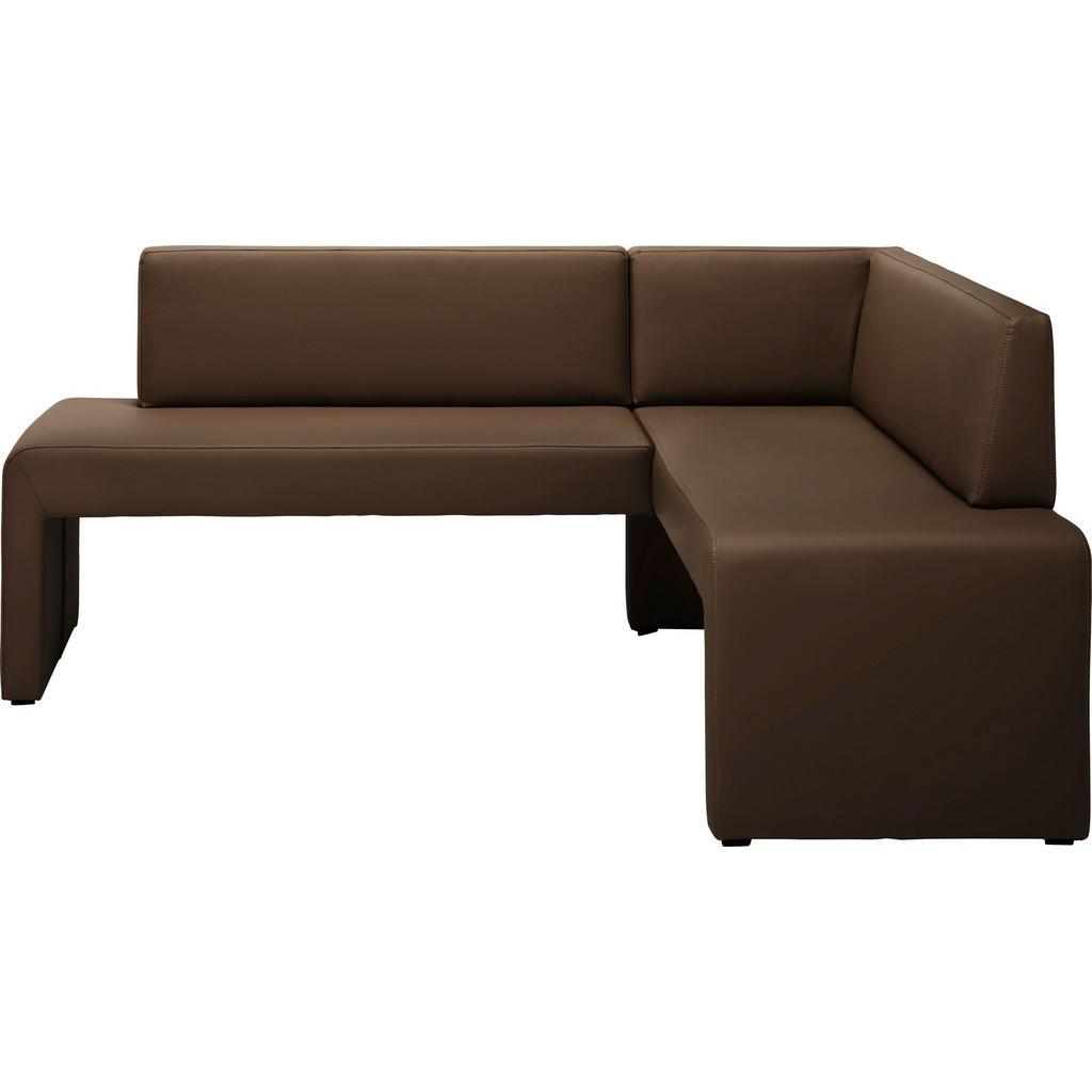 Carryhome ECKBANK Lederlook Braun | Küche und Esszimmer > Sitzbänke > Eckbänke | Textil | Carryhome