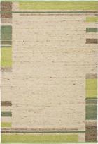 HANDWEBTEPPICH 70/130 cm - Braun/Naturfarben, Natur, Textil (70/130cm) - Linea Natura