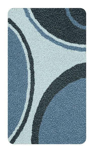 BADTEPPICH  Anthrazit  60/100 cm - Anthrazit, Kunststoff/Textil (60/100cm) - KLEINE WOLKE