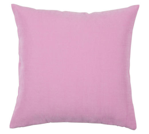 KISSENHÜLLE Rosa 40/40 cm  - Rosa, Basics, Textil (40/40cm) - Novel