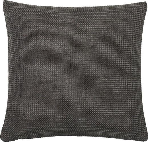 KISSENHÜLLE Anthrazit 60/60 cm - Anthrazit, Basics, Textil (60/60cm)