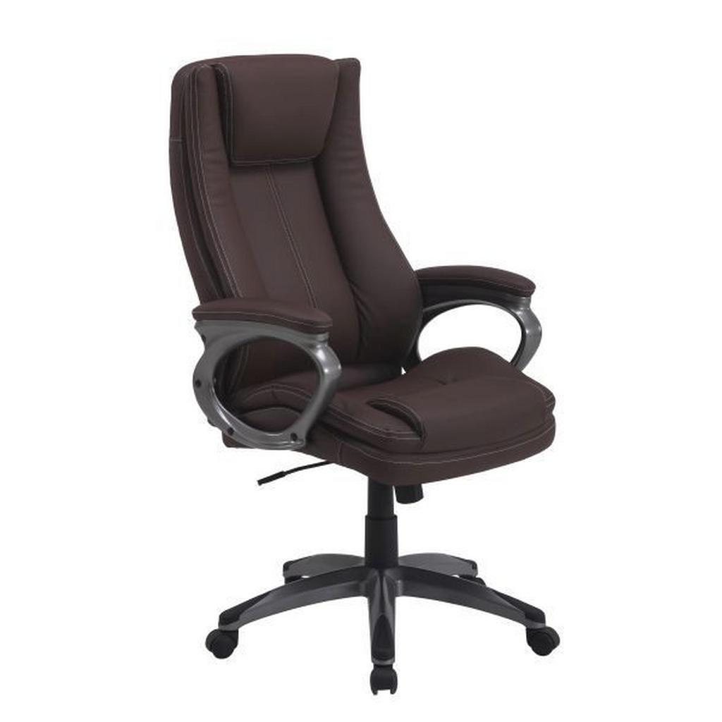 Hom`in CHEFSESSEL Lederlook Braun | Büro > Bürostühle und Sessel  > Chefsessel | Braun | Textil | Hom`in
