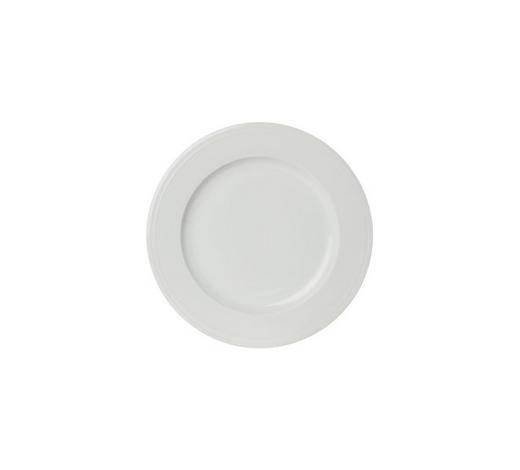 TALÍŘ DEZERTNÍ, porcelán - bílá, Design, keramika (22cm) - Novel