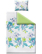 POSTELJINA 140/200 cm  - zelena/plava, Basics, tekstil (140/200cm) - Esposa
