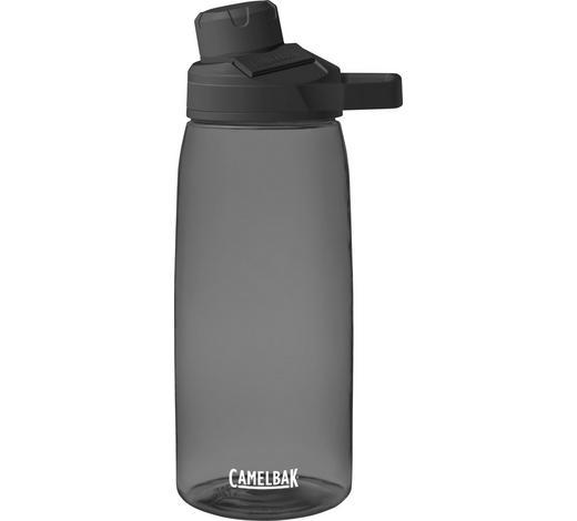 TRINKFLASCHE 1,0 L - Dunkelgrau, KONVENTIONELL, Kunststoff (1,0l)