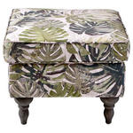 HOCKER Flachgewebe Multicolor  - Dunkelgrau/Multicolor, Design, Holz/Textil (55/44/55cm) - Carryhome