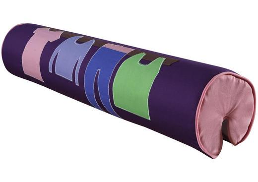 NACKENROLLE - Lila/Rosa, Design, Textil