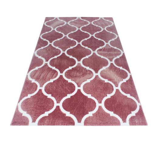 HOCHFLORTEPPICH  120/170 cm  gewebt  Pink   - Pink, Trend, Textil (120/170cm) - Novel