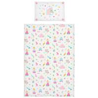 BABYBETTWÄSCHE 100/140 cm - Rosa, Basics, Textil (100/140cm) - My Baby Lou