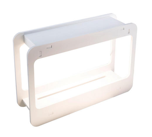 LED-Mini-Gewächshaus - Klar/Weiß, Design, Kunststoff (48/13,8/32cm)
