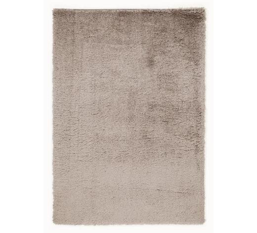 HOCHFLORTEPPICH  120/170 cm  gewebt  Hellbraun   - Hellbraun, Basics, Textil (120/170cm) - Novel