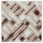 BADTEPPICH  60/60 cm  Silberfarben, Beige, Bronzefarben   - Beige/Silberfarben, Design, Textil (60/60cm) - Ambiente