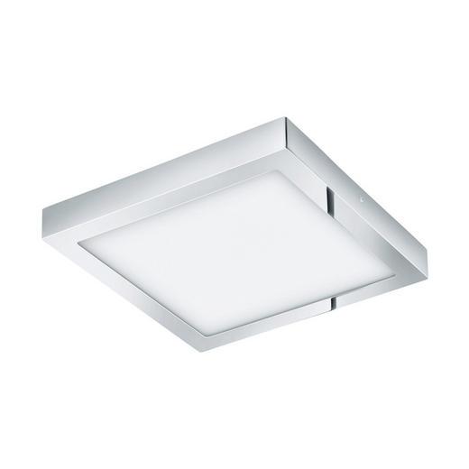 AUFBAULEUCHTE - Chromfarben, Design, Metall (30/30cm)