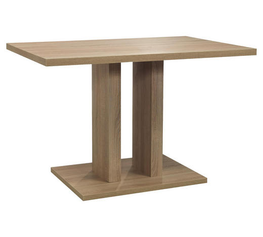 ESSTISCH in Holzwerkstoff 120/80/77 cm   - Eichefarben, Natur, Holzwerkstoff (120/80/77cm) - Cantus