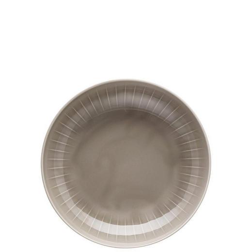 SUPPENTELLER Porzellan - Grau, Basics (23cm)