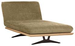 OTTOMANE in Grün Holz, Textil - Schwarz/Grün, Design, Holz/Textil (114/92/165/218cm) - Dieter Knoll