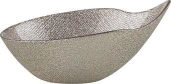 SKÅL - grå, Lifestyle, glas (24cm) - NOVEL
