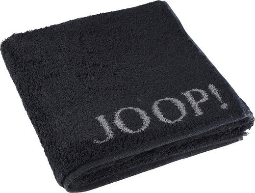 HANDTUCH - Schwarz, Design, Textil (50/100cm) - Joop!