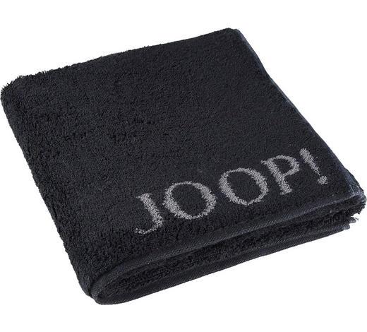 RUČNÍK, 50/100 cm, černá - černá, Design, textil (50/100cm) - Joop!