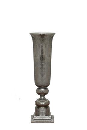 VAS - silver, Basics, metall (27/86cm) - Ambia Home