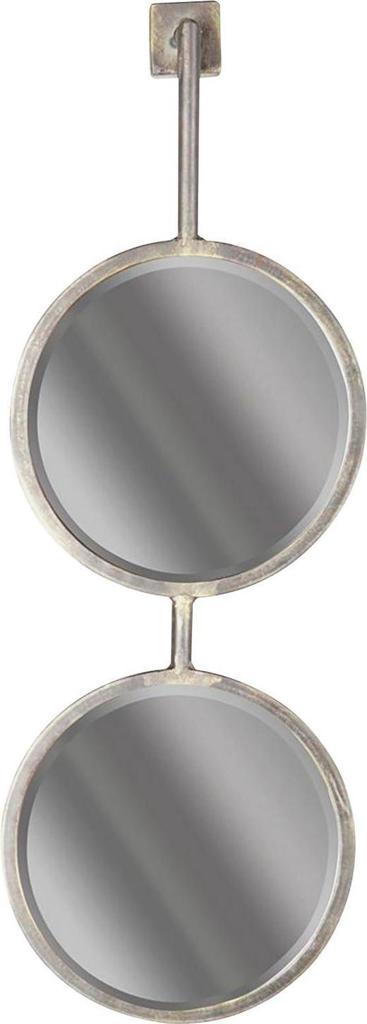 SPIEGEL - Schwarz, Design, Glas/Metall (29/64/2,2cm) - Ambia Home