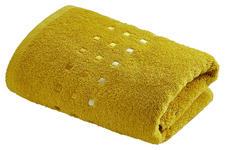 DUSCHTUCH 70/140 cm  - Gelb, Basics, Textil (70/140cm) - Esposa