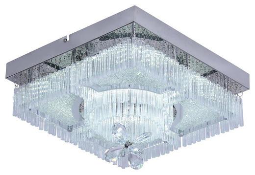 LED-DECKENLEUCHTE - Chromfarben, Design, Glas/Metall (36/36cm) - Novel