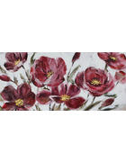 OLJNA SLIKA - večbarvno, Basics, tekstil/les (120/55cm) - Monee