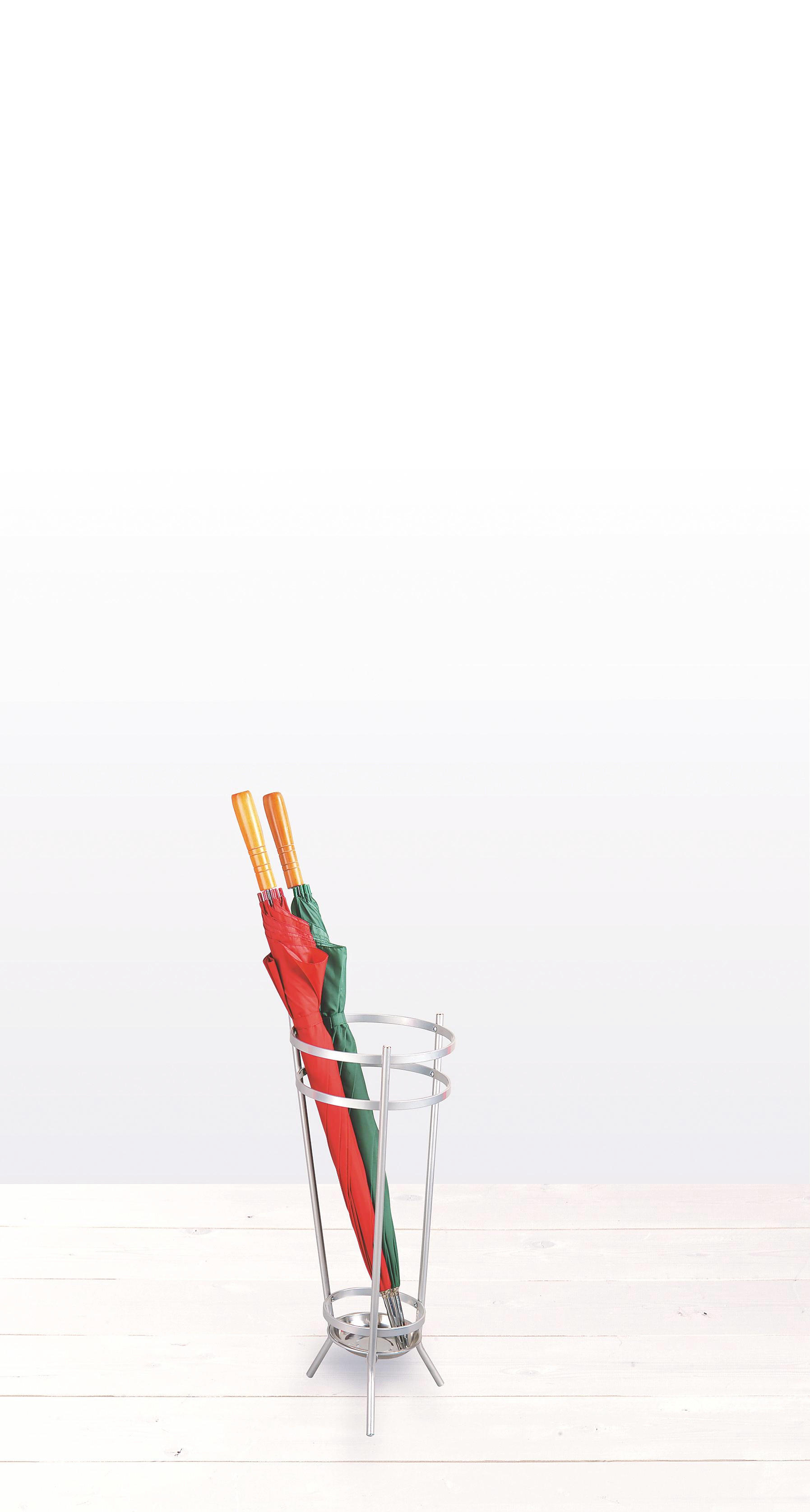 STALAK ZA KIŠOBRANE - boje aluminija, metal (26/68/26cm) - LESNINA-XXXL