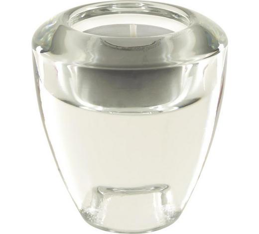 TEELICHTGLAS - Klar, Basics, Glas (7,00cm) - Leonardo