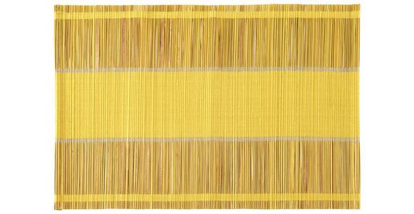 TISCHSET 33/48 cm Textil   - Gelb, KONVENTIONELL, Textil (33/48cm) - Esposa