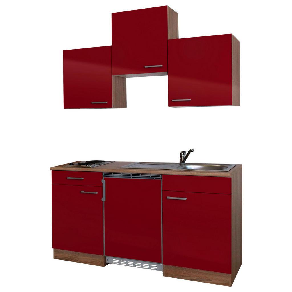 XXXL MINIKÜCHE E-Geräte, Spüle, Braun | Küche und Esszimmer > Küchen > Miniküchen | Braun | XXXL Shop