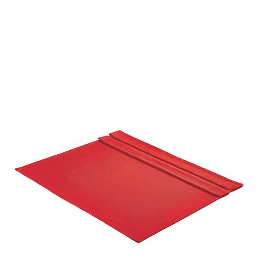 Tischdecke ca. 135 x 220 Textil Rot 135/220 cm - Rot, Basics, Textil (135/220cm)