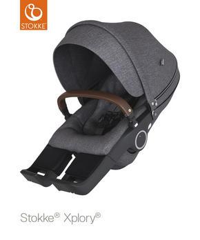 SITTDEL - mörkgrå, Design, textil (94/44/26cm) - Stokke