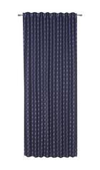 FERTIGVORHANG blickdicht - Blau, Design, Textil (130/250cm) - Joop!