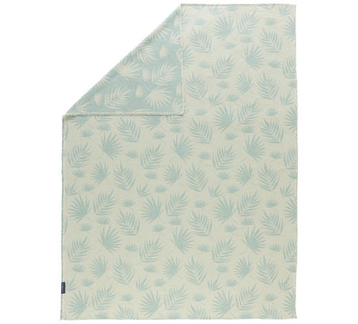 KUSCHELDECKE 140/200 cm - Jadegrün, LIFESTYLE, Textil (140/200cm) - David Fussenegger