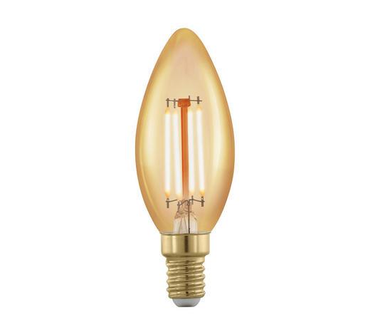 LED-Leuchtmittel E14 - Klar, Basics, Glas (3,7/9,8cm)