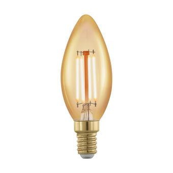 LED ŽÁROVKA - čiré, Basics, sklo (12cm)