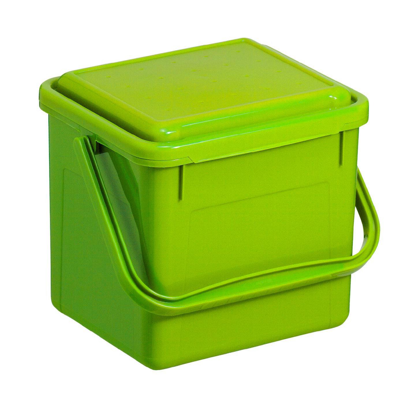 KANTA ZA SMEĆE - Zelena, Konvencionalno, Plastika (21/20/18cm) - Rotho