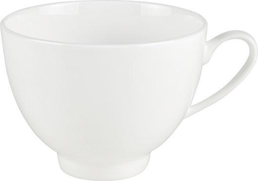 KAFFEETASSE - Weiß, Basics (9/6,5cm) - NOVEL